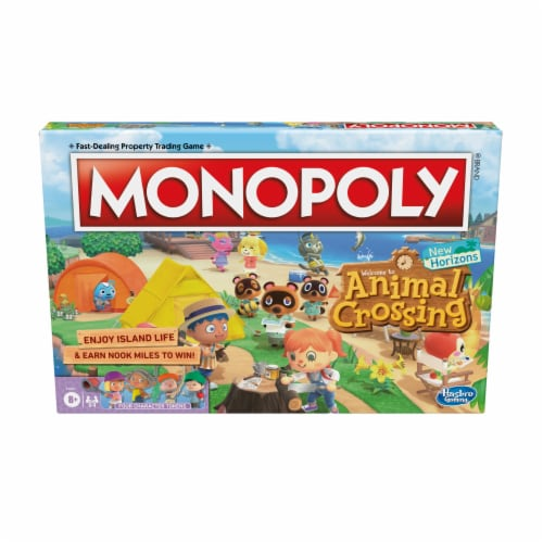 Monopoly Animal Crossing New Horizons Board Game Perspective: front