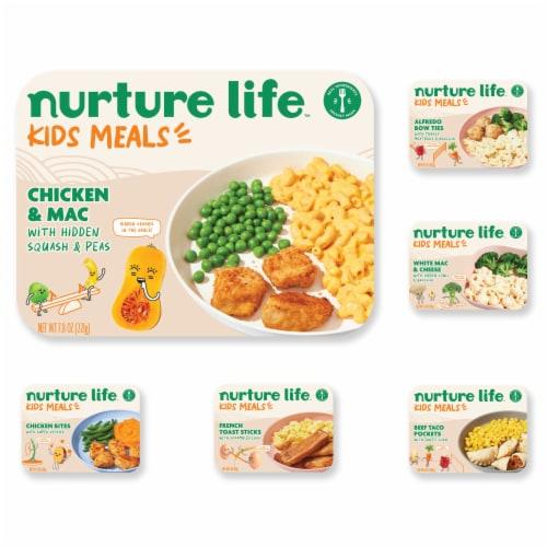 Nurture Life Toddler & Kid Food Favorites 5-Meal Variety Pack, Fresh Baby Food Perspective: front