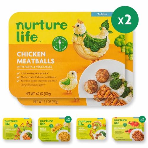 Nurture Life Toddler & Kid Food Favorites 8-Meal Variety Pack, Fresh Baby Food Perspective: front