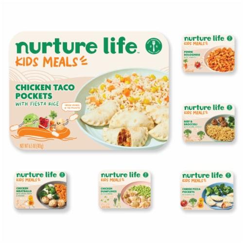 Nurture Life Toddler & Kid Food Flavor Explorer 5-Meal Variety Pack, Fresh Baby Food Perspective: front
