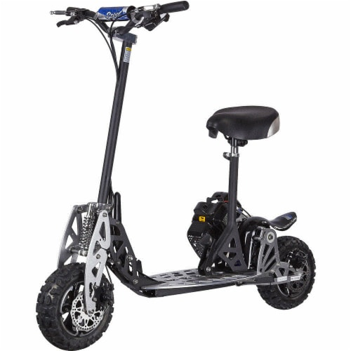 Big Toys Uberscoot-2x-Big Uberscoot 2X Big Wheel 50Cc Gas Scooter Perspective: front