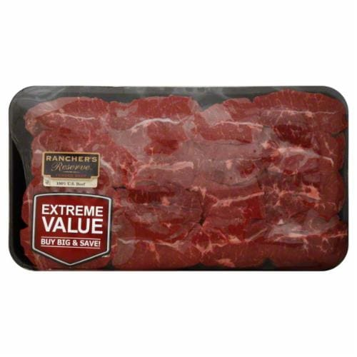 Beef Cross Rib Steak (15-16 Per Pack) Perspective: front