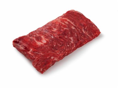 Beef Choice Skirt Steak (1 Steak) Perspective: front