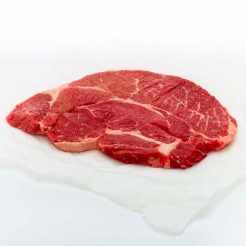 Beef Choice Boneless Thin Chuck Steak (1 Steak) Perspective: front