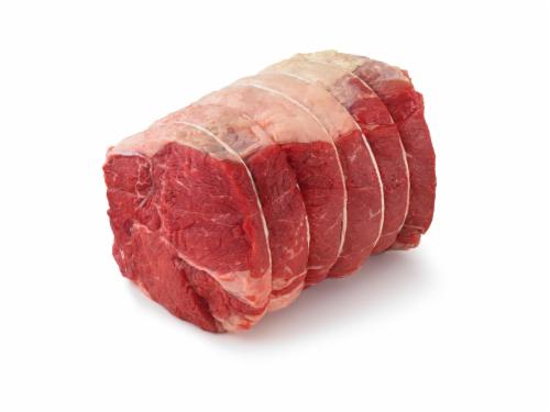 Beef Choice Chuck Roast Cross Rib (1 Roast) Perspective: front