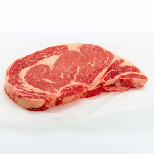 Beef Choice Boneless Ribeye Steak (2 Steaks per Pack) Perspective: front