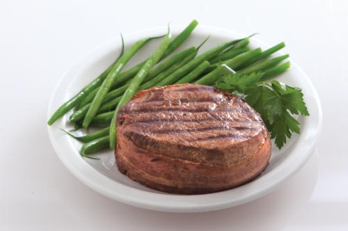 Choice Filet Mignon Beef Loin Tenderloin Perspective: front