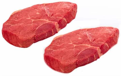 Beef Choice Top Sirloin Steak Value Pack (About 3-4 Steaks Per Pack) Perspective: front