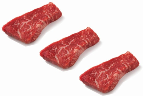 Beef Choice Tri-Tip Steaks Value Pack (About 7 Steaks per Pack) Perspective: front