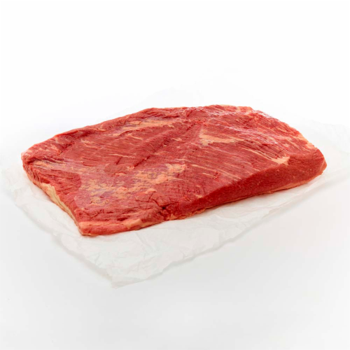 Beef Choice Brisket Flat Cut Perspective: front