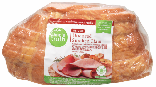 Simple Truth™ Sliced Smoked Ham Limit 1 per Order Perspective: front