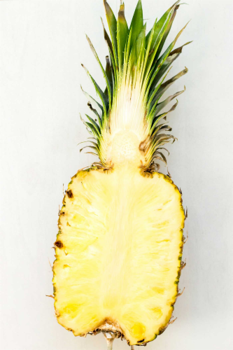 Pineapple - Halves Perspective: front