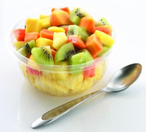 In-Store Cut Tropical Fruit Small Cup Perspective: front