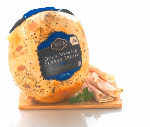 Private Selection™ Grab & Go  Oven Roasted Turkey Breast Perspective: front
