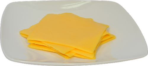 Grab & Go Kroger Yellow American Cheese Perspective: front