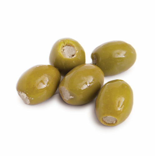 Murray's® Blue Cheese Stuffed Green Olives (sold in ½ pound units) Perspective: front