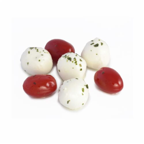 Murray's® Cherry Tomato and Mozzarella Salad (sold in ½ pound units) Perspective: front