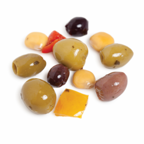 Murray's® Assorted Cocktail Olives Perspective: front