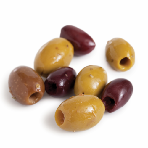 Murray's® Greek Mixed Pitted Olives Perspective: front