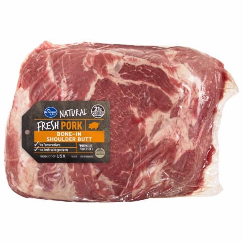 Kroger® Pork Steak Ready Shoulder Butt Perspective: front