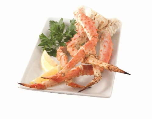 Kroger - Wild Caught King Crab Legs and Claws 16/20 per Pound, 1 Lb