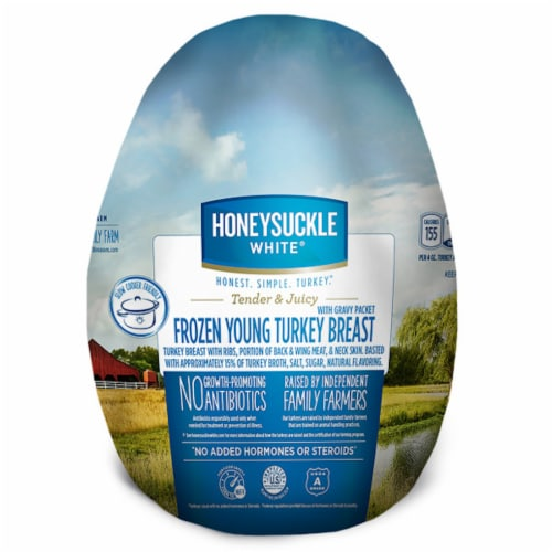 Honeysuckle White Young Fresh Turkey Breast (3-8 lb) Limit 1 Per Order Perspective: front