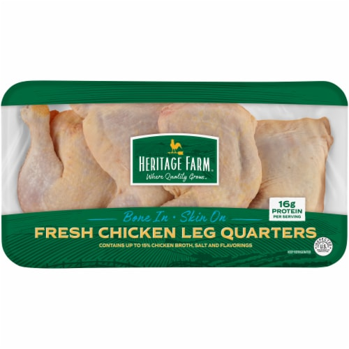 Heritage Farm Chicken Leg Quarters (4-5 per Pack) Perspective: front