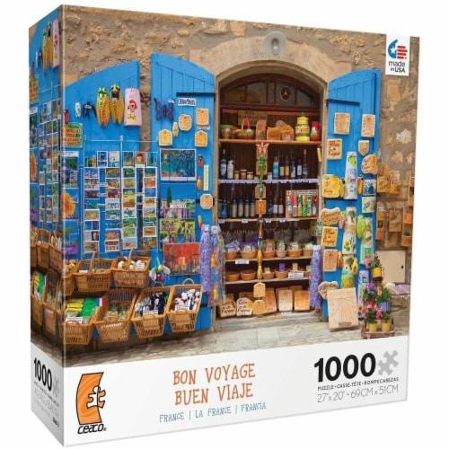 Ceaco Bon Voyage Travel Photographs France Jigsaw Puzzle - 1000 Pieces Perspective: front