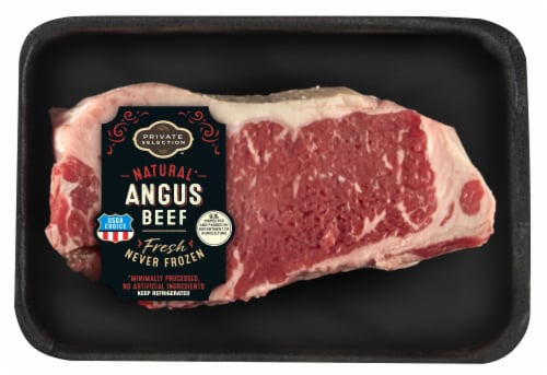 Private Selection™ Choice Angus Top Loin Strip Steak Perspective: front