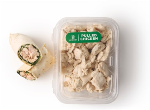 Fresh Foods Market Deli Pulled Chicken Perspective: front