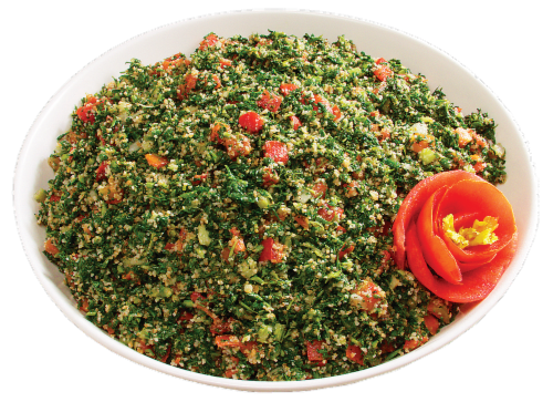 Tabouli Salad Perspective: front