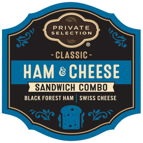 Private Selection™ Classic Ham & Cheese Sandwich Combo Perspective: front