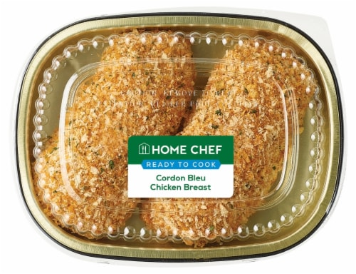 Home Chef Cordon Bleu Chicken Breast Perspective: front