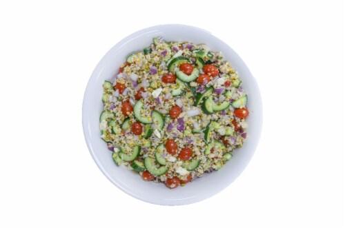 Seven Grain Greek Salad Perspective: front
