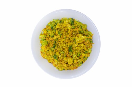 Curried Chickpea Salad Perspective: front
