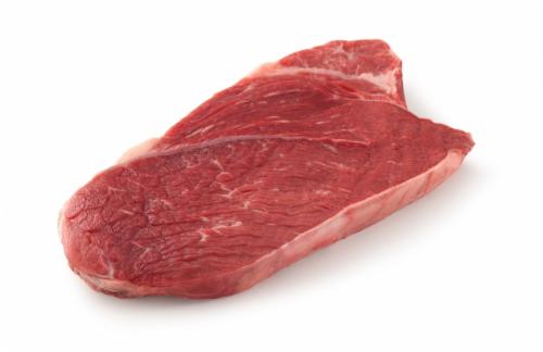 Beef Choice Black Angus Bonelss English Shoulder Steak (1 Steak) Perspective: front