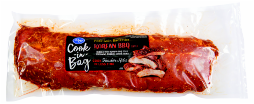 Kroger® Korean BBQ Style Pork Loin Backribs Cook-in-Bag Perspective: front