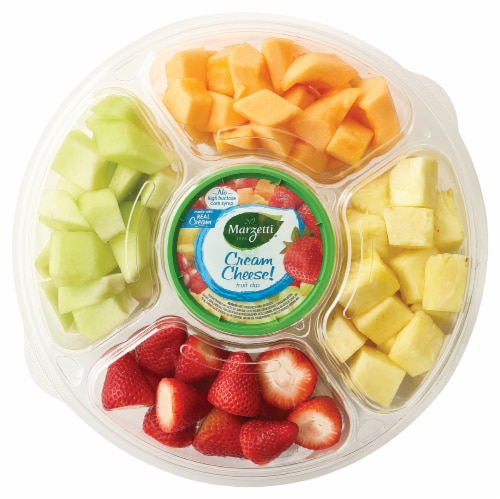 Fresh Cut Fruit with Dip Large Party Tray Perspective: front