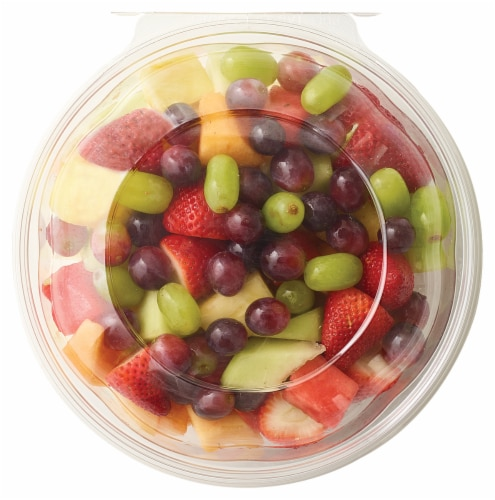 Fresh Cut Mixed Fruit Bowl Perspective: front