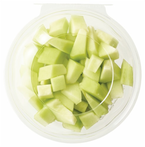 Fresh Cut Honeydew Bowl Perspective: front