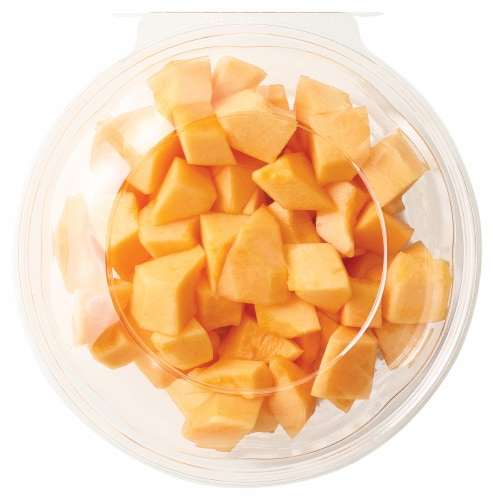Fresh Cut Cantaloupe Bowl Perspective: front