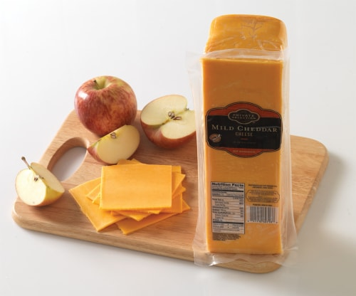 Private Selection™ Mild Cheddar Cheese Perspective: front