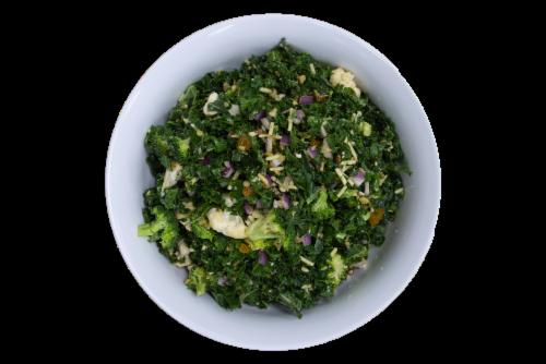 Cirtus Broccoli Kale Salad Perspective: front