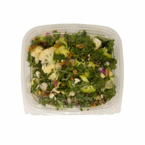 Broccoli Kale Salad Perspective: front