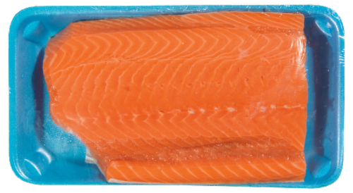 Atlantic Salmon Fillet Perspective: front