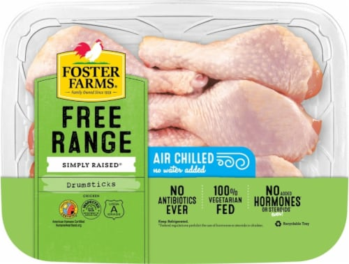 Foster Farms Chicken Drums Perspective: front