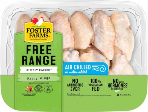 Foster Farms Party Chicken Wings Perspective: front