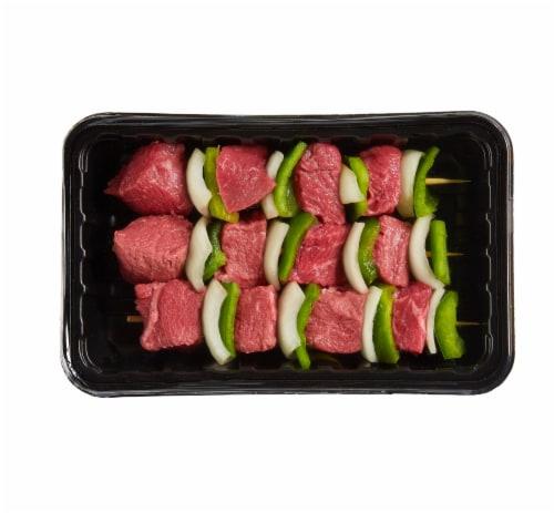 Beef Kabobs Perspective: front