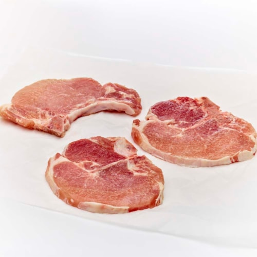 Tyson Bone-In Pork Chops Perspective: front