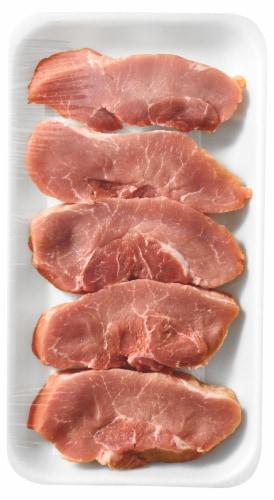 Pork Boneless Sirloin Chops Value Pack Perspective: front